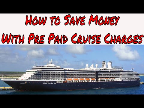 Cruise Ship Charges Which Ones Should You Pre Pay Before Your Cruise?
