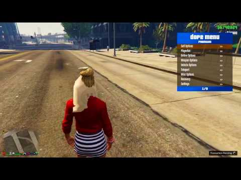GTA 5 Online PC 1.40 - Dope Mod Menu - Money drop undetectable +Downloadᴴᴰ