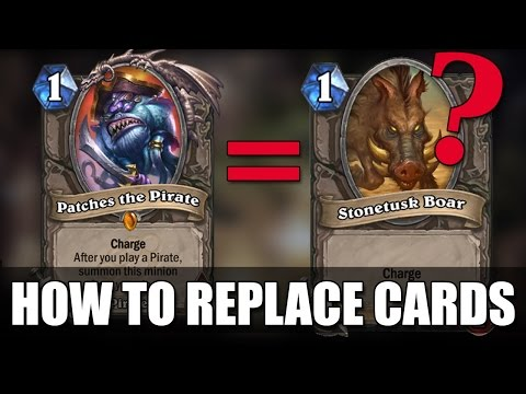 How to Substitute Cards in Hearthstone – Finding Replacement Cards on a Budget!