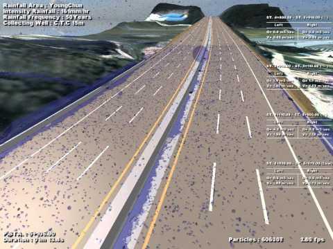 [이에이트] Road Simulation (Surface Drainage)