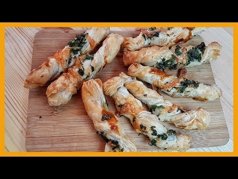 How to Make Easy Puff Pastry Garlic Twists
