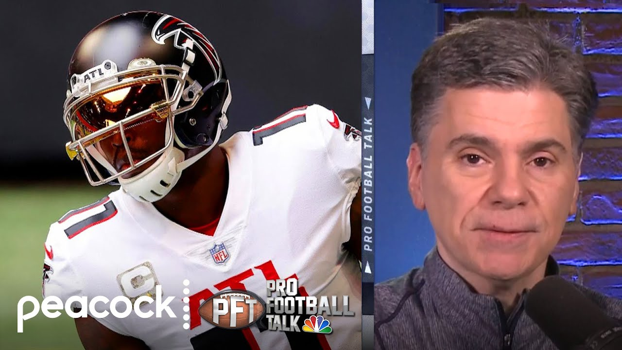 Will Falcons have hard time trading Julio Jones? | Pro Football Talk | NBC Sports