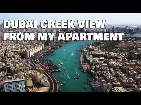 Dubai Creek View From My Apartment