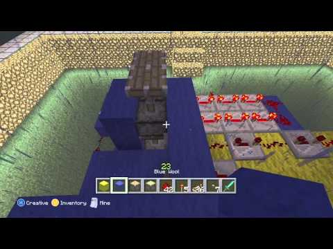 Minecraft (Xbox 360 Edition): Piston Elevator (Up and Down) Tutorial (Update)