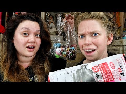 Opening a Mystery Junk Drawer from Japan feat. KATSKETCH