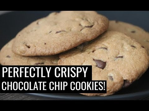 Perfectly Crispy Chocolate Chip Cookies