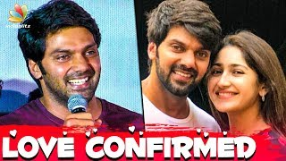 Download OFFICIAL : Arya Confirms Marriage With Sayyeshaa | Hot Tamil Cinema News Video