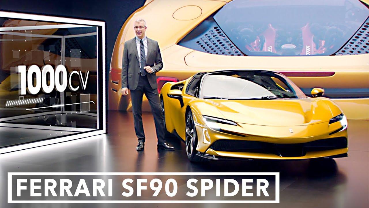 Ferrari SF90 Spider (2021) Full Details
