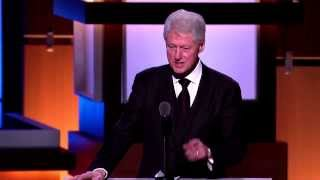 President Bill Clinton Honors President George H. W. Bush
