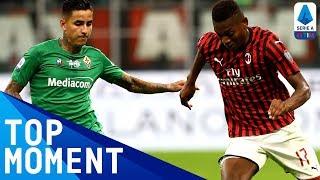 Leao scores brilliant consolation goal for Milan! | Milan 1-3 Fiorentina | Top Moment | Serie A