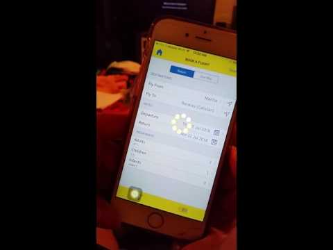 Cebu Pacific App Error