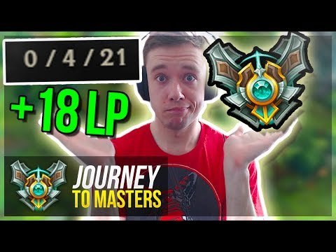 FOUND THE WAY TO GET ELO!! TIME TO CLIMB?! - Journey To Masters | League of Legends