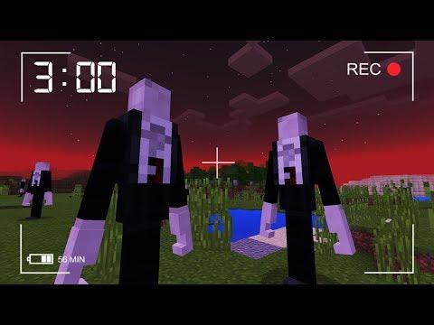 Do NOT Look for Slenderman in Minecraft Pocket Edition at 3 AM! (SECRET RECORDING)