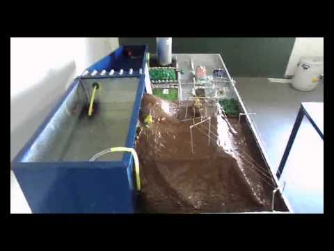 working model of hydro power plant project hpp of ee Darshit,Hardik