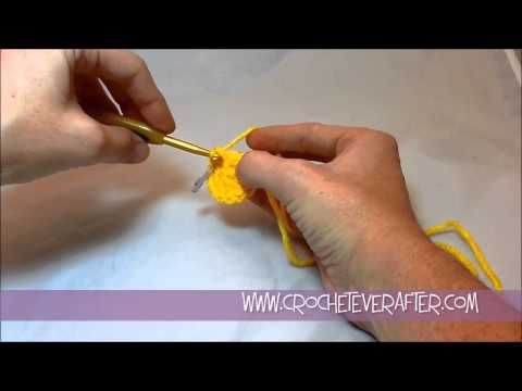 Left Hand Single Crochet Tutorial #13: Increasing in SC When Working in the Round