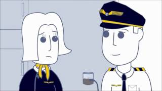 Rooster Teeth animated adventures airports and planes stories
