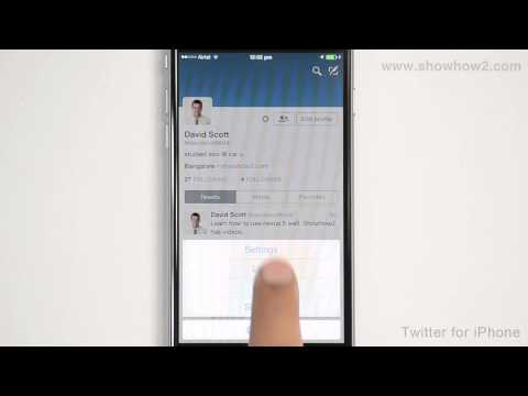 Twitter For iPhone - How To Delete A Member From Your Twitter List