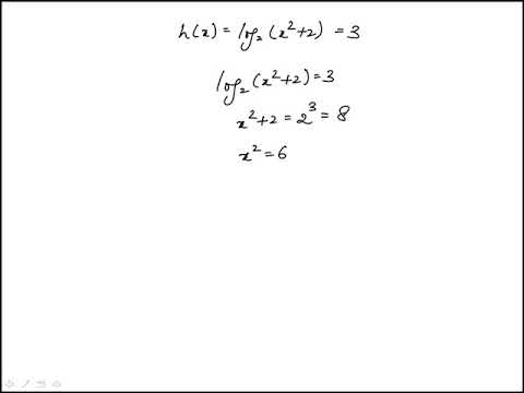 Question 34 Precalculus 2018 CLEP Official Study Guide