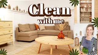 WHOLE HOUSE CLEAN WITH ME 2021 /all day clean with me /Scandish Home homemaking