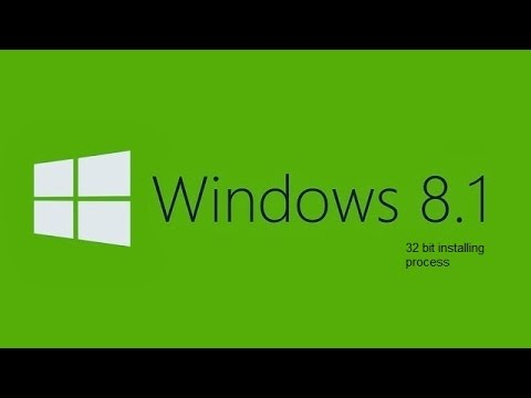 how to install 32 bit windows 8 1 from a 64 bit pc (from pendrive)