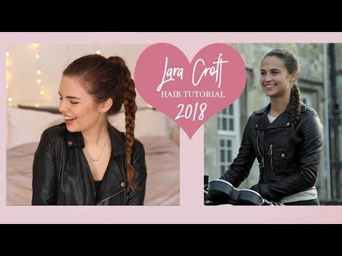 Lara Croft Tomb Raider Hair Tutorial | Alicia Vikander 2018