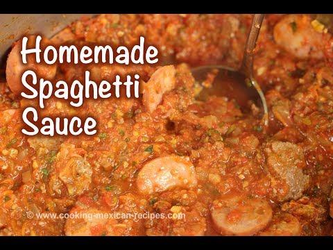 Spaghetti Sauce Recipe From Fresh Tomatoes | Homemade Pasta Sauce | Rockin Robin Cooks