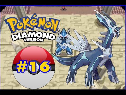 Pokemon Diamond - Part 16 - Spear Pillar & Dialga