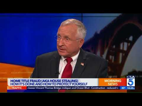 Home Title Fraud  How It's Done and How to Protect Yourself   KTLA5