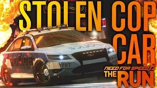 I STOLE A COP CAR!!! | Need for Speed The Run #9