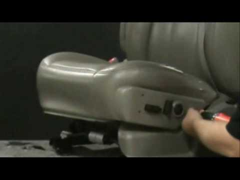 1 OF 3 - 03-06 CHEVY CHEVROLET DRIVER BOTTOM LEATHER INSTALLATION VIDEO SERIES FROM THE SEAT SHOP