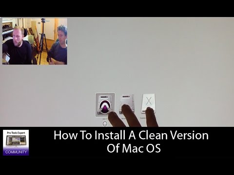How To Install A Clean Version Of Mac OS