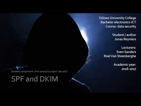 SPF and DKIM