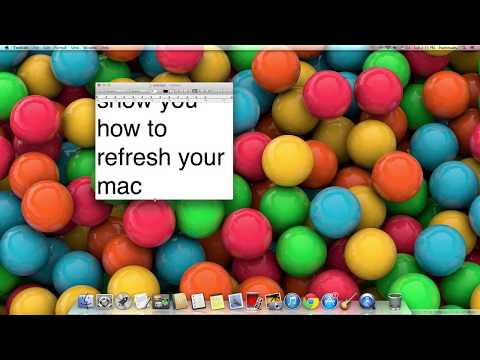 how to refresh your mac