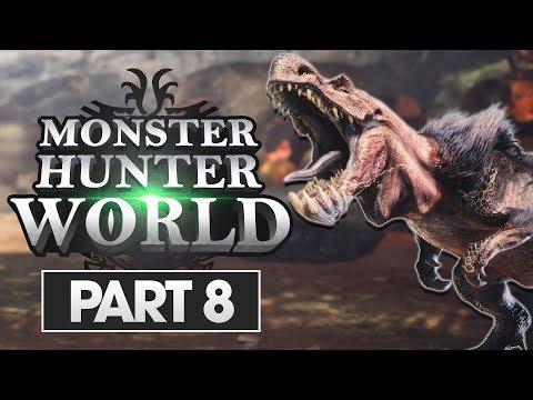 Monster Hunter World Walkthrough Part 8: Anjanath