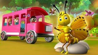 Titli Udi Bus Pe Chadi Hindi Rhymes - Hindi Balgeet | Hindi Nursery Rhymes For Children | तितली उड़ी