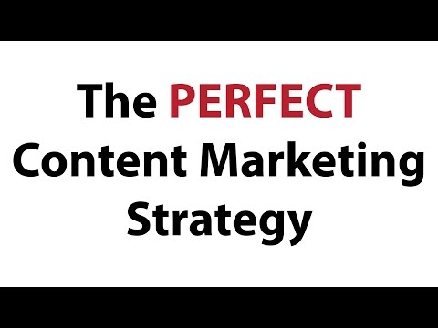 The Perfect Content Marketing Strategy (Nothing Held Back!)