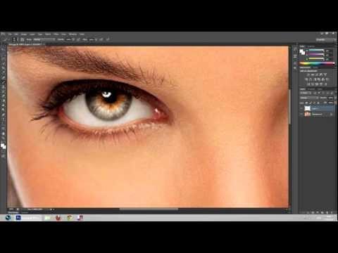 How to Enhance Eyes on Photoshop Cs6 Tutorial l HD