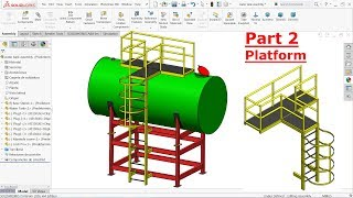 Solidworks tutorial Design of water Tank Part 1 (Solidworks