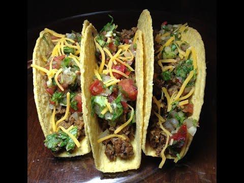 How to Make Tacos:  Crispy and Soft Shell - SC #12