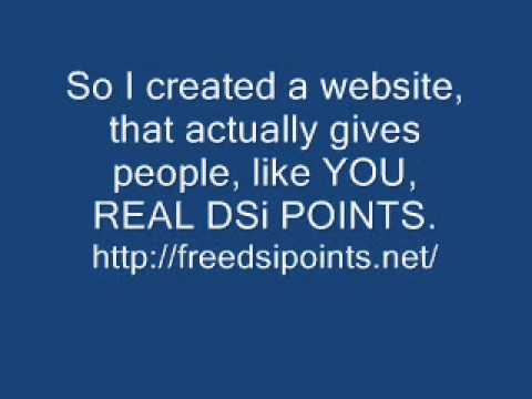 DSi Points Free