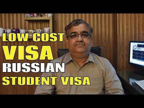 Low Cost Student Visa - Russia Student Visa
