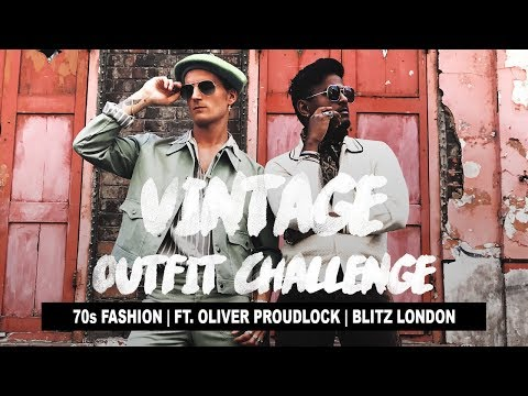 70s Fashion Outfit Challenge ft. Ollie Proudlock