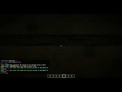 Minetime: Can't do anything in creative server?!