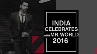 India Celebrates with MR. World 2016 | Rohit Khandelwal | EXCLUSIVELY on zoom
