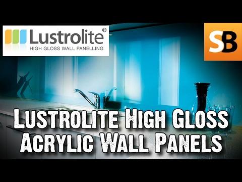 Lustrolite Coloured High Gloss Acrylic Wall Panels