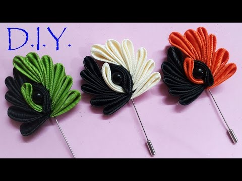 D.I.Y. Kanzashi Lapel - Father's Day Special | MyInDulzens