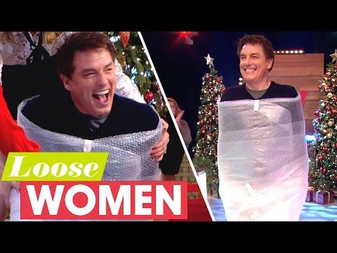 John Barrowman Arrives Bubble-Wrapped! | Loose Women