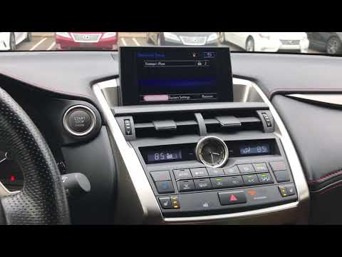 Remove Old Phone and Pair New Phone Lexus NX 200t
