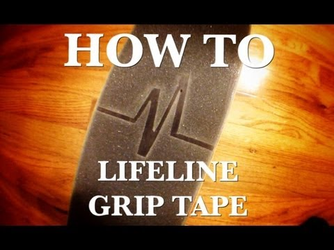 REVIVE GRIP TAPE: how to cut your grip like me!