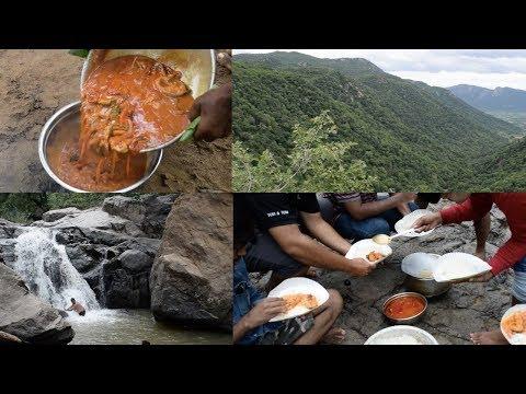 Kalvarayan Hills Trip - We prepared different variety of Non-Veg foods